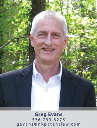 Greg Evans - Patent Agent